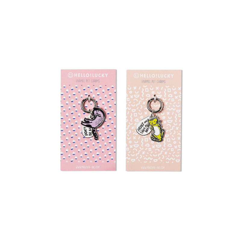 Purrfectly Charmed Pet Tags, Set of 2