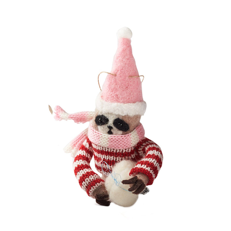 Devious Decorators Felt Ornament, Set of 4