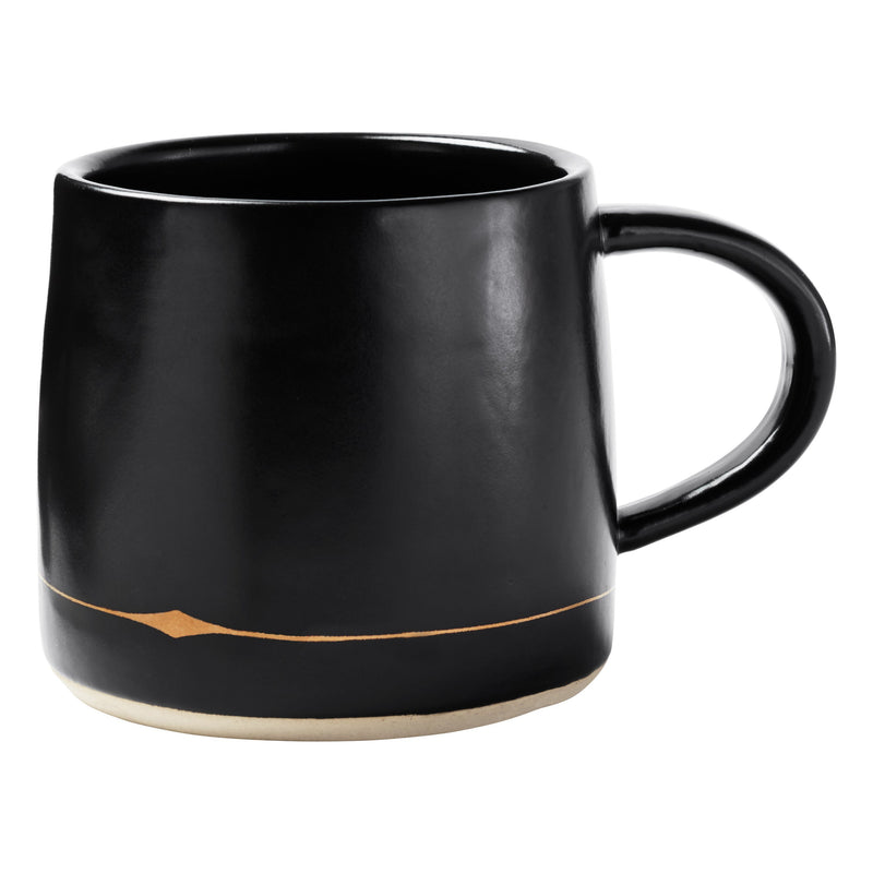 Palm Desert Mugs in Black (Pack of 4)