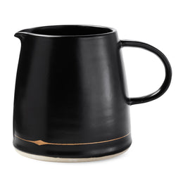 Palm Desert Pitcher in Black