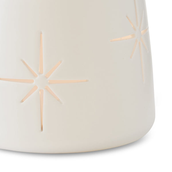 Palm Desert Luminaries in White (Pack of 4)