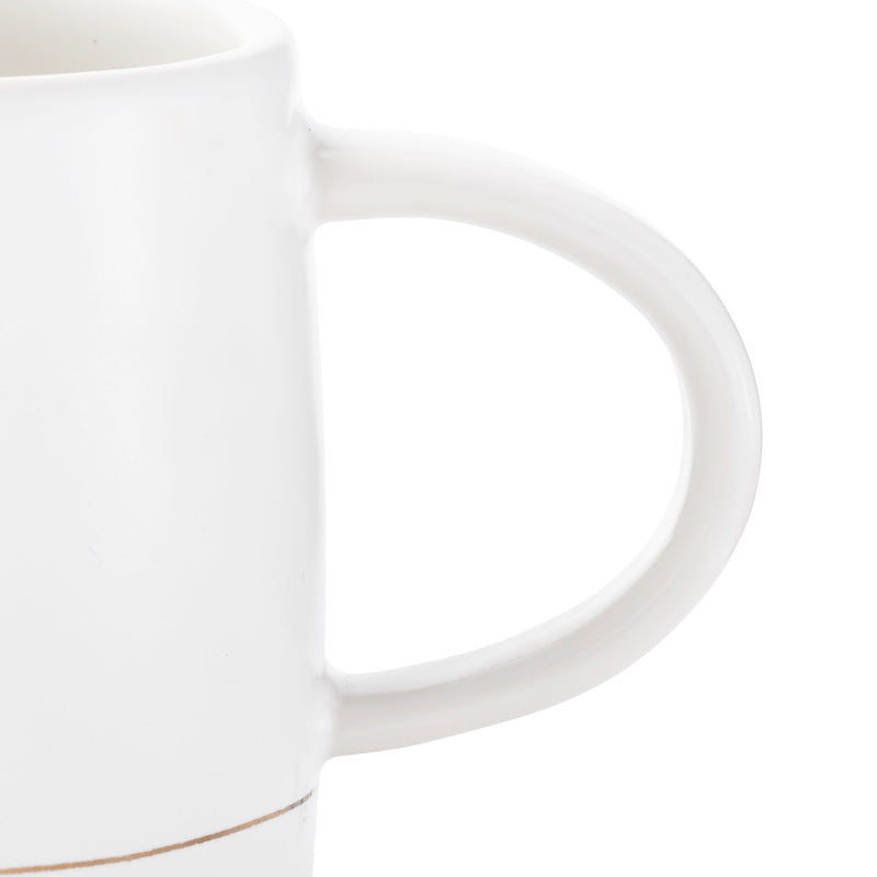Palm Desert Mugs in White (Pack of 4)
