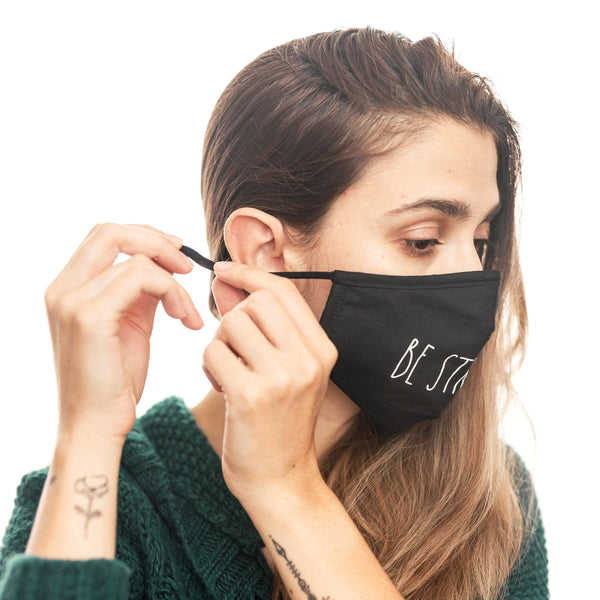 Rae Dunn Artisan Reusable Mask Set with Pouch and Filters