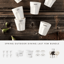 Rae Dunn Spring Outdoor Dining Last Few Bundle