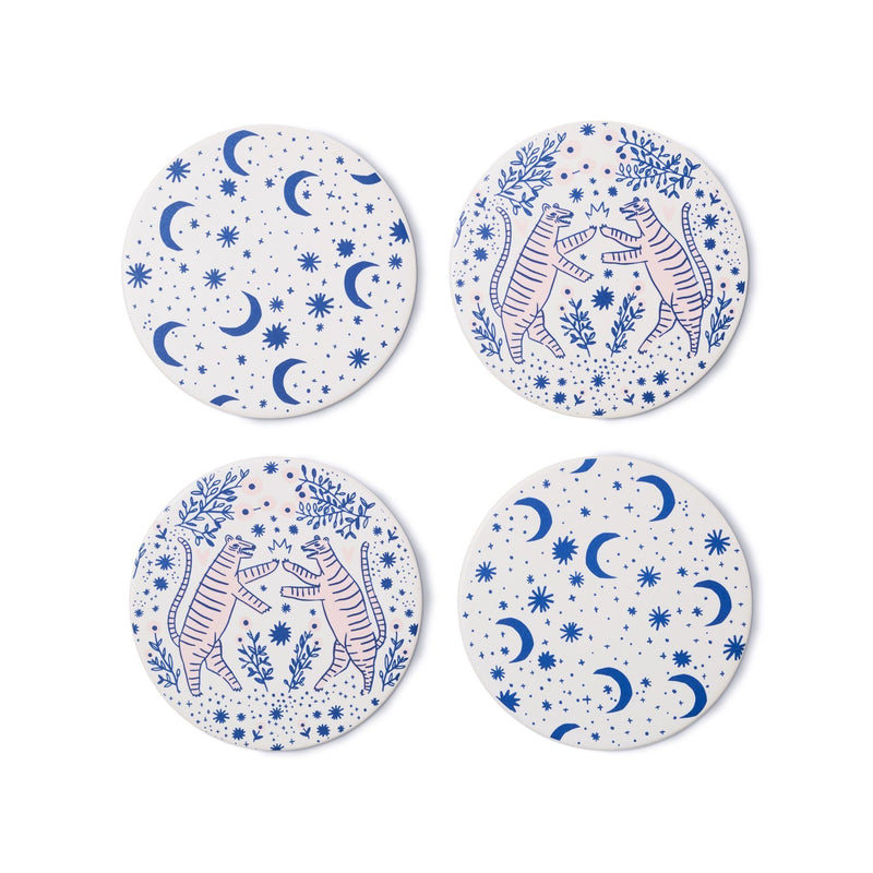 Fierce Coasters, Set of 4