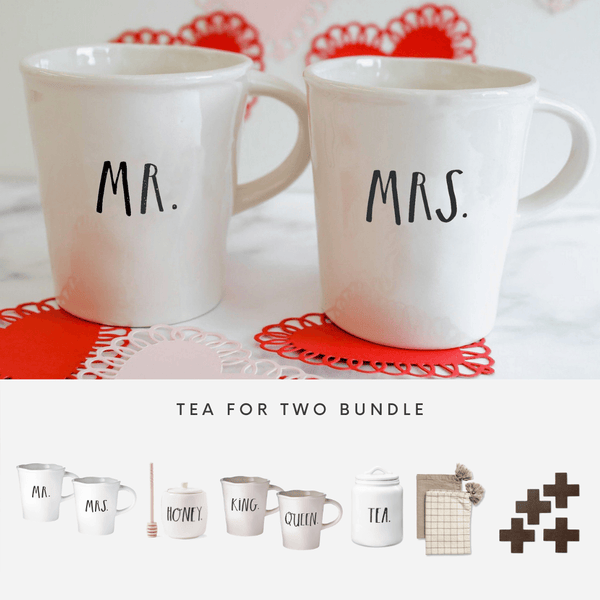 Rae Dunn Tea For Two Bundle