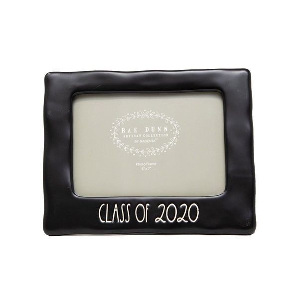 "Rae Dunn Artisan Collection ""Class Of"" 2020 Graduation Picture Frame"