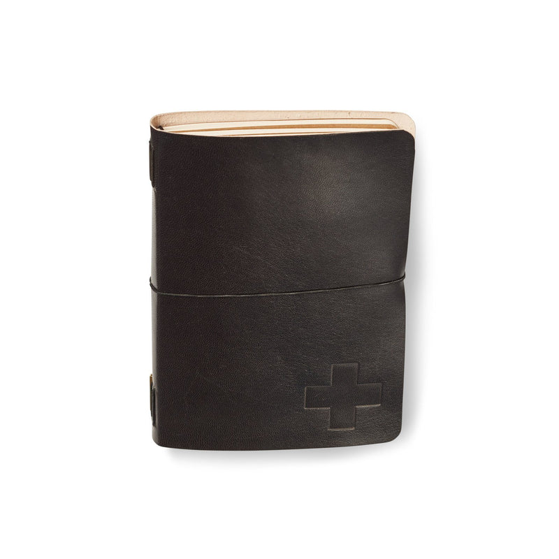 Icon Leather Artist A5 Journal Black