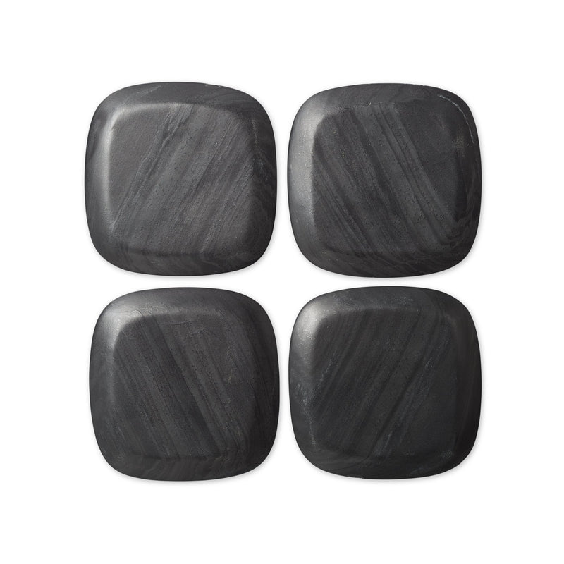 Laurent Marble Coasters, Set of 4