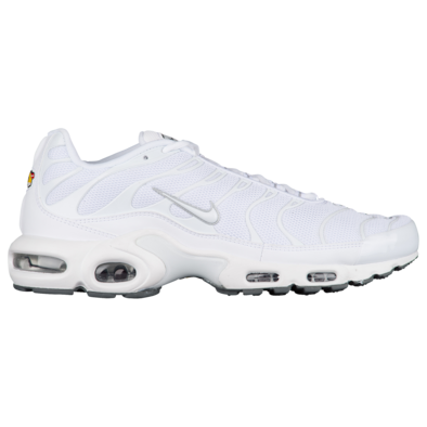 Nike Mens Air Max Plus - White/Black/Cool Grey/White - Workout Crew Athletic Online