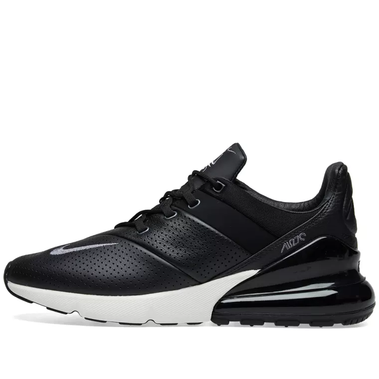Nike Air Max 270 Premium - Black / Carbon / Sail / Grey - Workout Crew Athletic Online