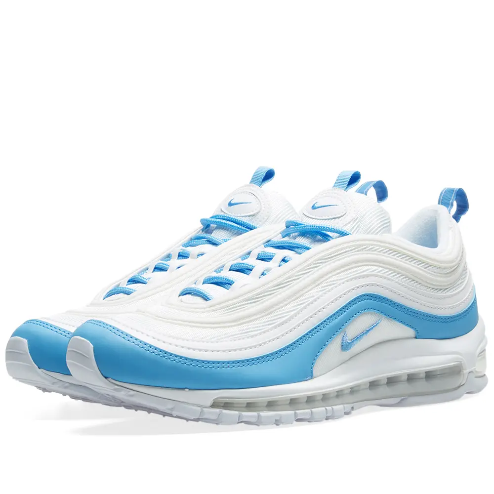 Nike Womens Air Max 97 Essential - White/blue
