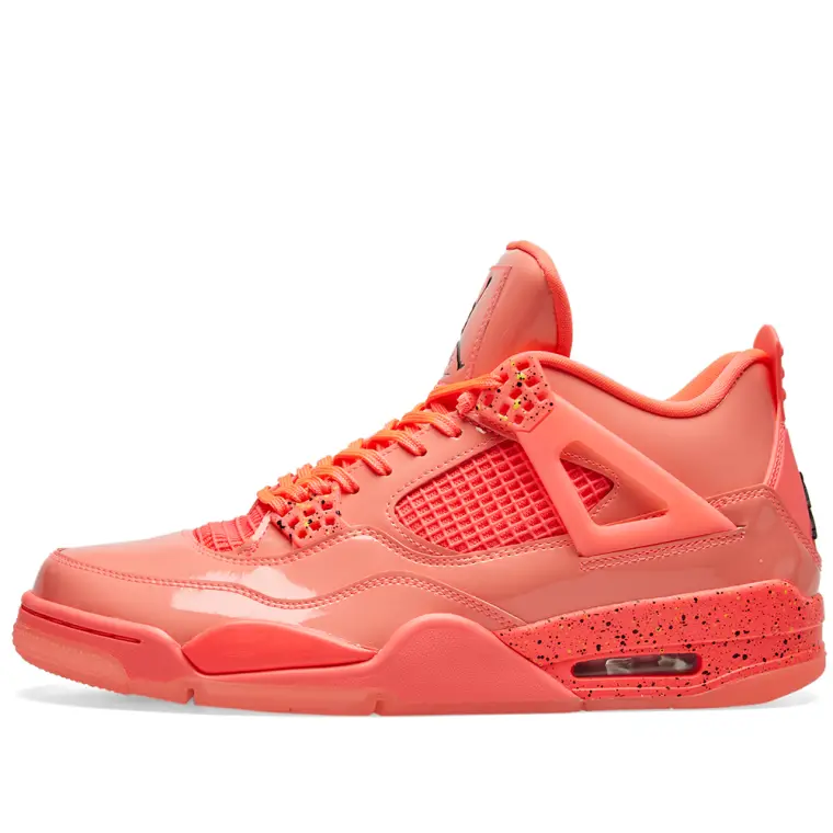 Air Jordan Retro 4 Womens Exlusive - Hot Punch