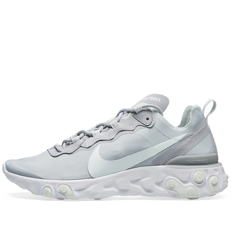 Nike Womens React Element 55 - Grey - Workout Crew Athletic Online