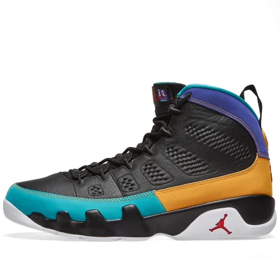 Air Jordan 9 Retro - Black/Red Concord/Gold