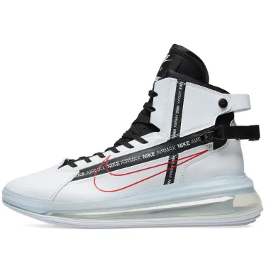 Nike Air Max 720 Saturn - White/Red/Black - Workout Crew Athletic Online