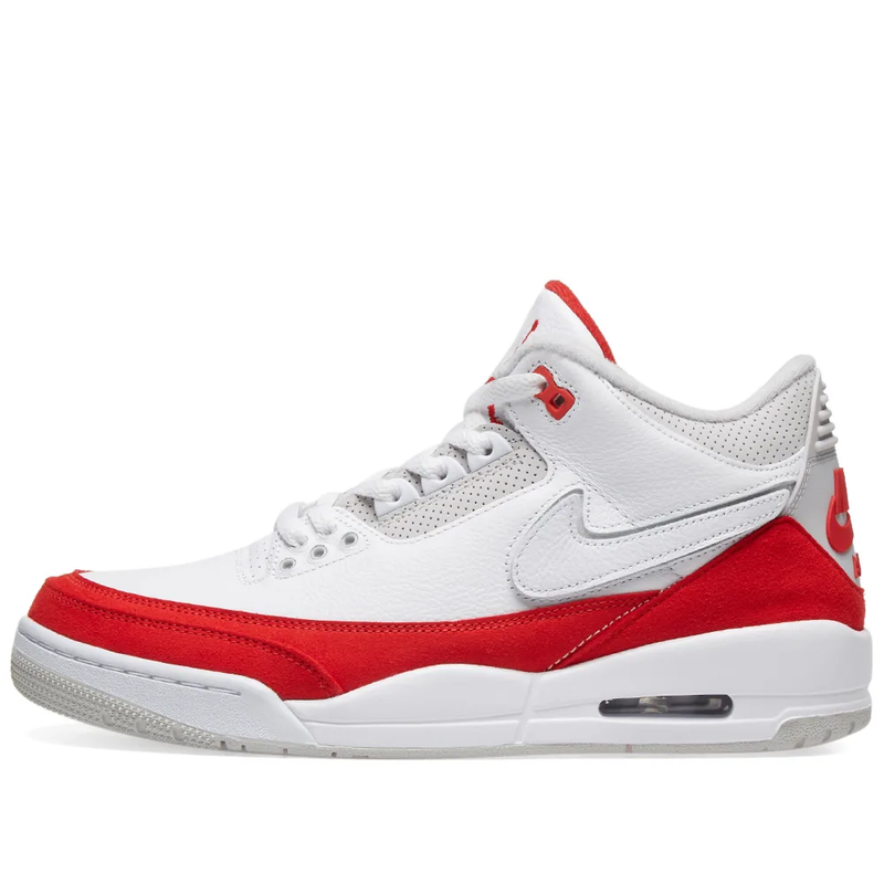 Air Jordan 3 Retro - White/University Red/Grey - Workout Crew Athletic Online