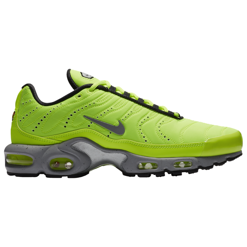 Nike Mens Air Plus - Volt/Matte Silver/Wolf Grey/Black