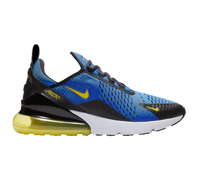 Nike Air Max 270 - Game Royal/Chamois/White/Black - Workout Crew Athletic Online