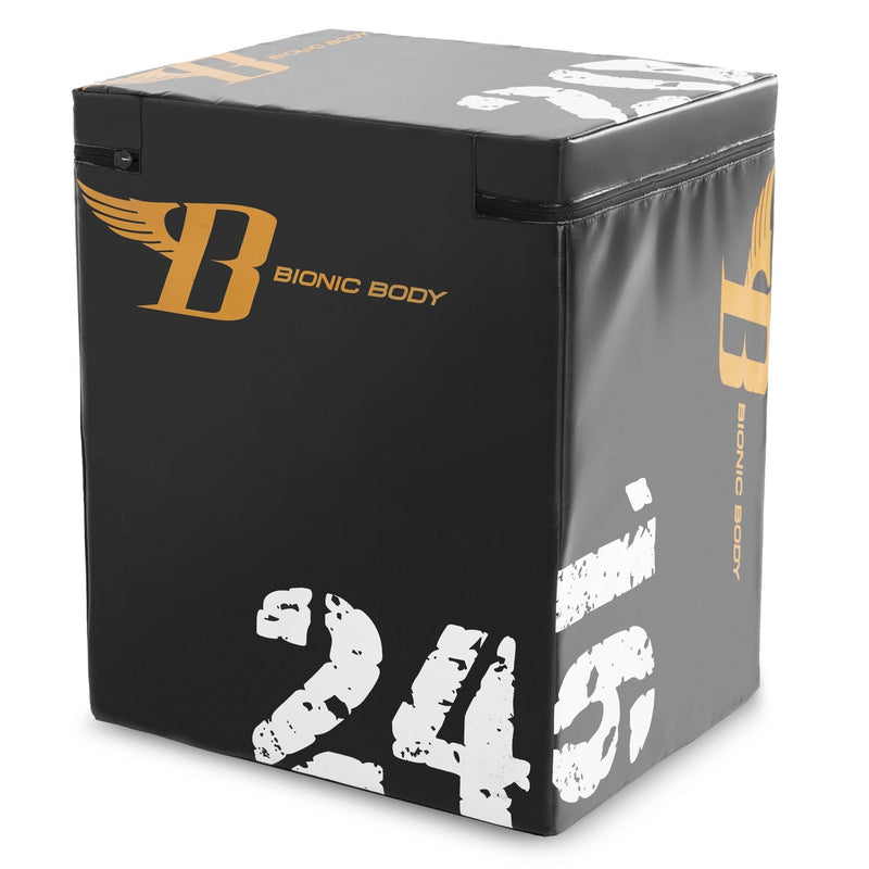 Bionic Body Black PlyoBox - Workout Crew Athletic Online
