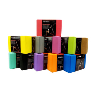 Exercise Fitness Yoga Block Set Eco Friendly Set of 2