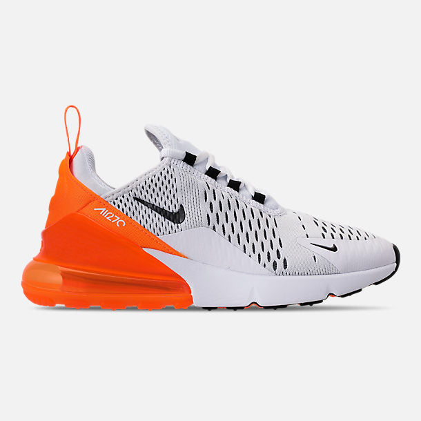 Nike Women's Air Max 270 White/Black/Total Orange