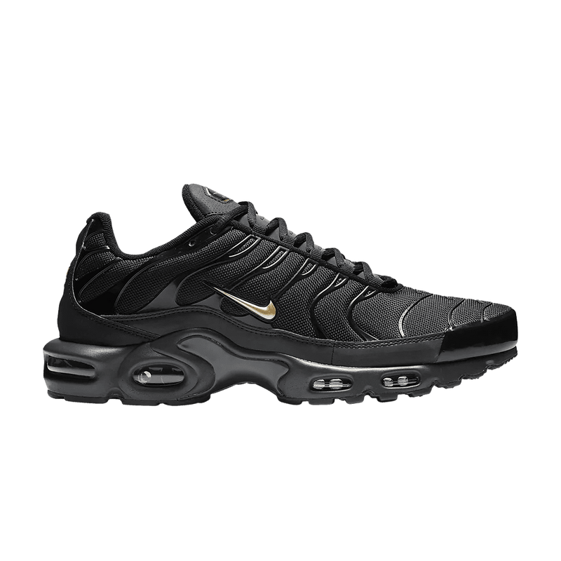 Nike Mens Air Max Plus TN - Black/Metallic Gold/Anthracite - Workout Crew Athletic Online