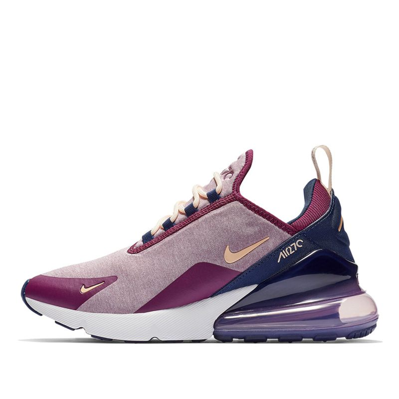 Nike Womens Air Max 270 SE - Plum Chalk - Workout Crew Athletic Online