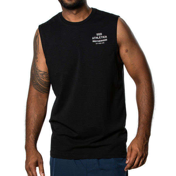 SQD Athletica - Brotherhood Tank Black - Workout Crew Athletic Online