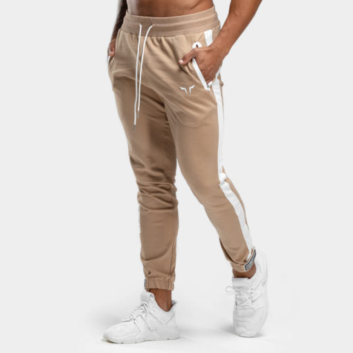 Squat Wolf Hype Joggers Beige With White