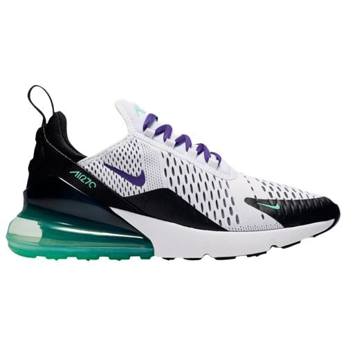 Nike Women's Air Max 270 White/Court Purple/Menta/Black