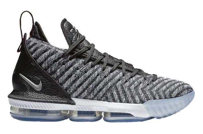 Nike Lebron 16 Mens Lebron James Black White Grey