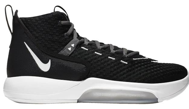 Nike Zoom Rize Mens Black White Wolf Grey