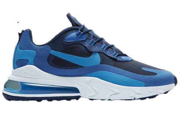 Nike Air Max 270 React Blue Void Blue Stardust Coastal Blue