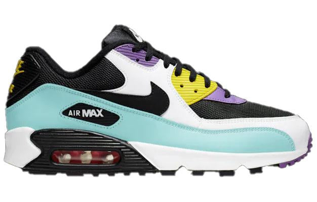 Nike Mens Air Max 90 White Bright Violet Pink Blast