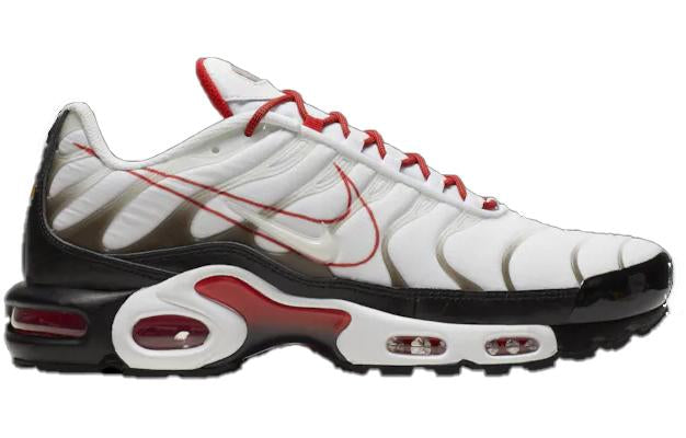 Nike Mens Air Max Plus - White Black Pure Platinum