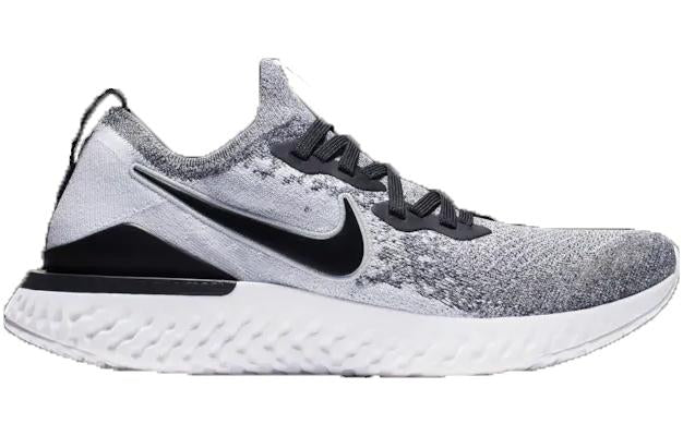 Nike Epic React Flyknit 2 White Black Cookies & Cream