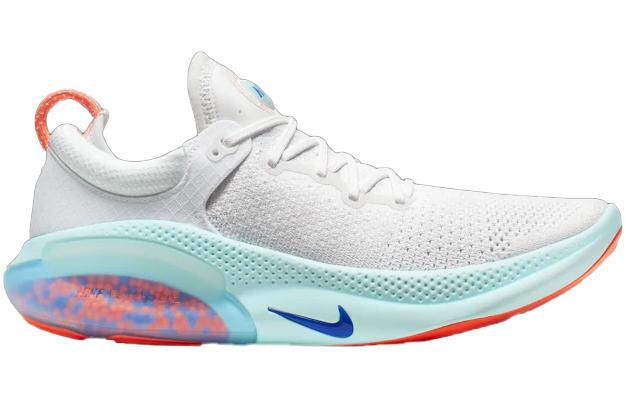 Nike Joyride Run Flyknit White Blue Platinum Tint Bright Mango