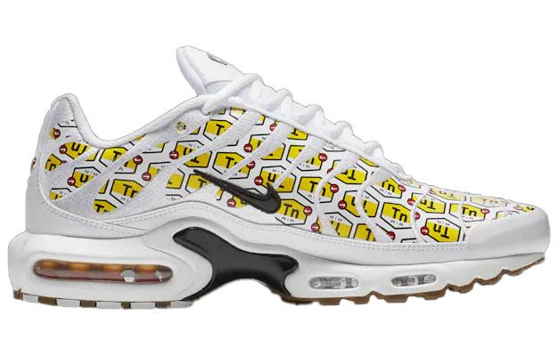 Nike Air Max Plus TN Mens White Black TN Logo
