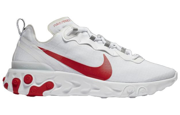 Nike React Element 55 White University Red