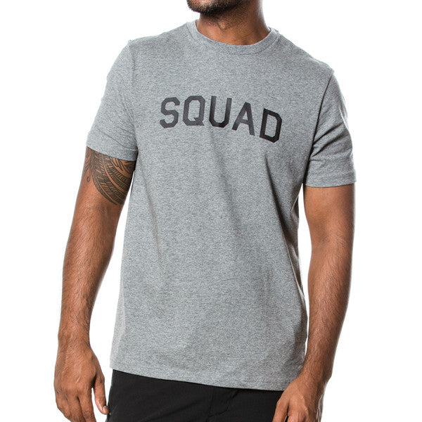 SQD Athletica - Squad Tee Grey Heather - Workout Crew Athletic Online