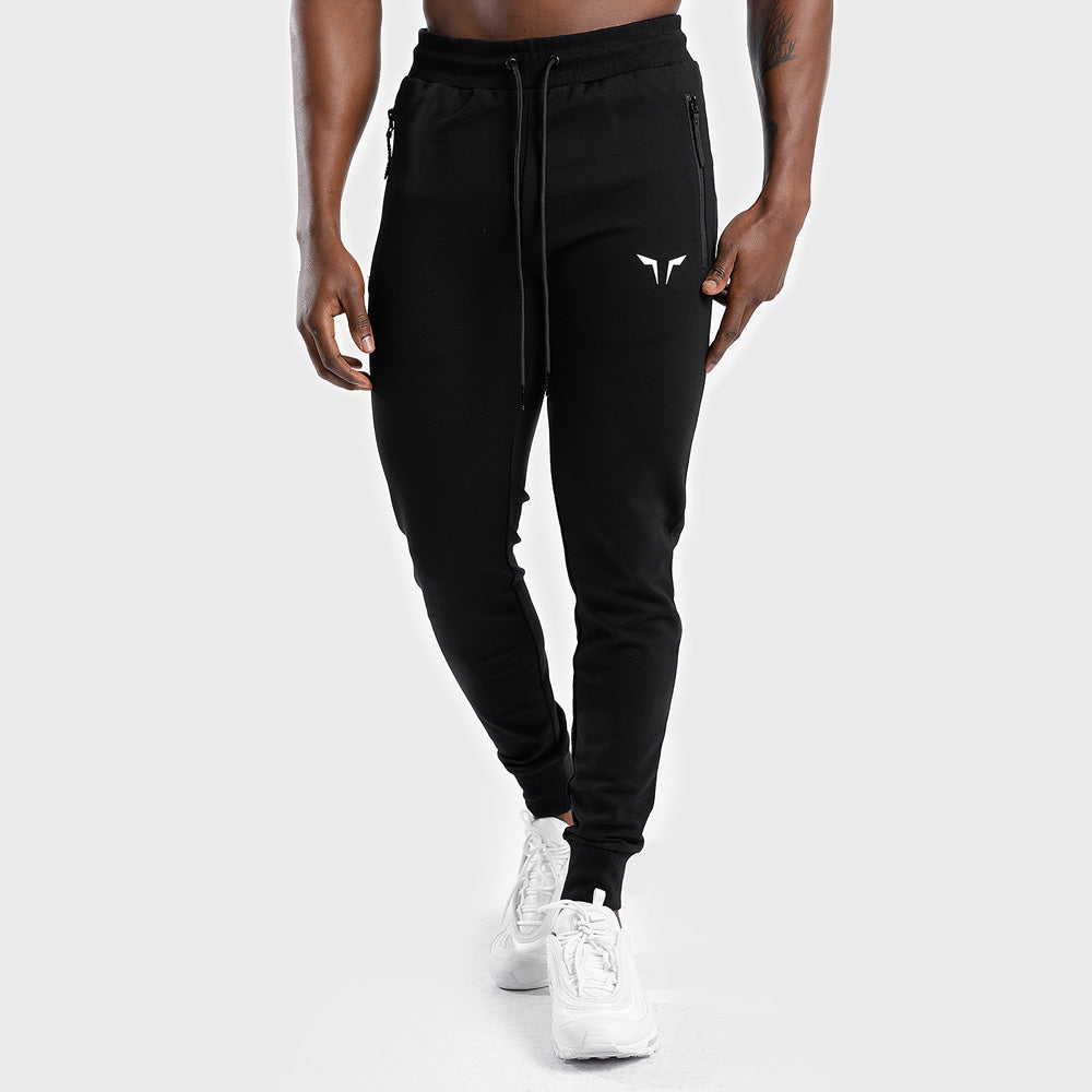 Squat Wolf Statement Classic Joggers - Black - Workout Crew Athletic Online