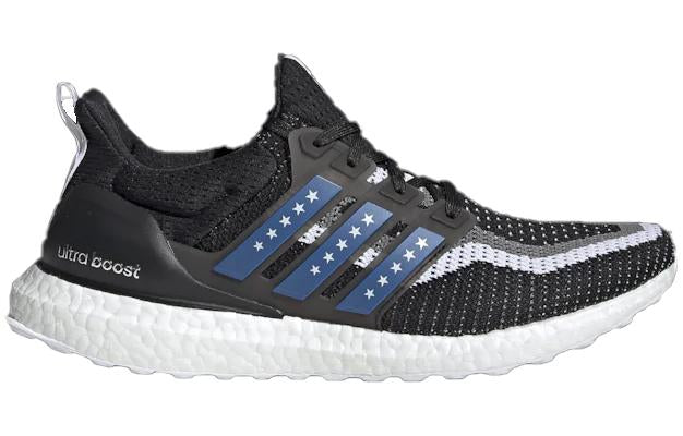 Adidas Ultra boost City Printed core black blue scarlet new york city
