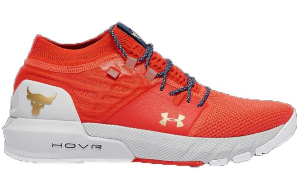 Under Armour Project Rock 2 Anthem Red Halo Grey Dwayne Johnson