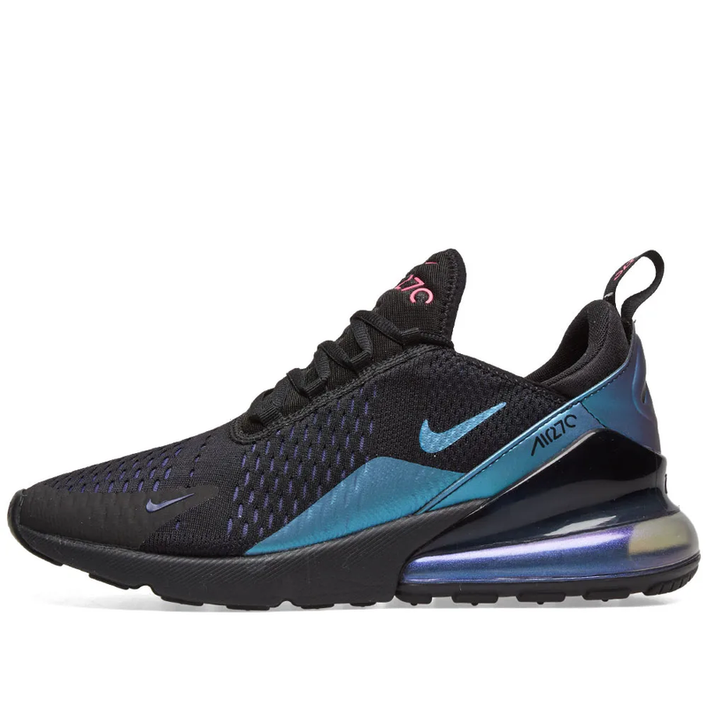 Nike Air Max 270 - Northern Lights, Black/Fuchsia & Purple - Workout Crew Athletic Online