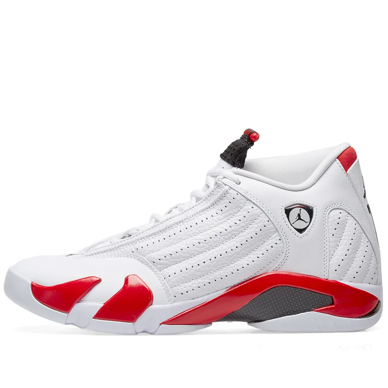 Nike Air Jordan XIV OG - White/Black/Varsity Red - Workout Crew Athletic Online
