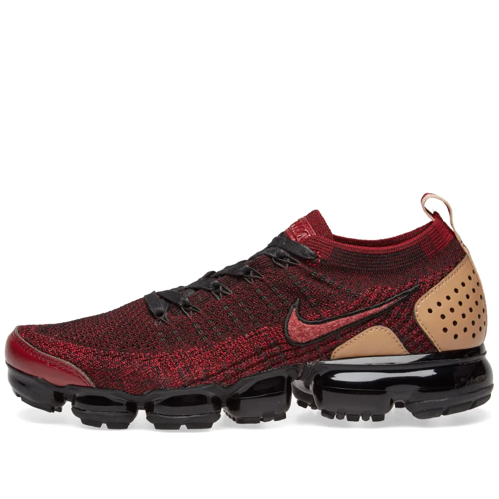 f669f4d9a3 Nike Air Vapormax Flyknit 2 NRG Team Red/Black/Tan - Workout Crew Athletic