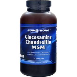 BodyStrong Glucosamine Chondroitin and MSM