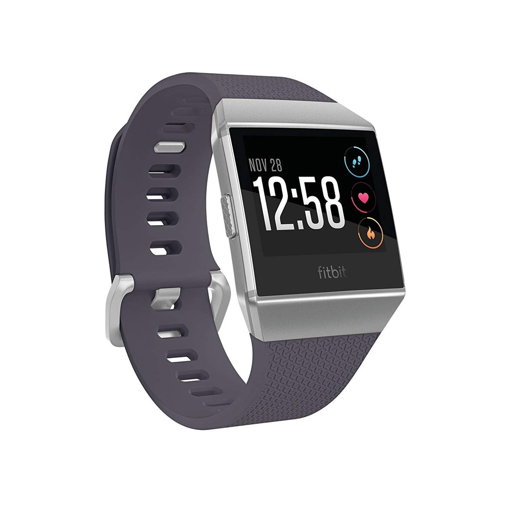 Fitbit Ionic Smartwatch Blue Gray/ Silver - Workout Crew Athletic Online