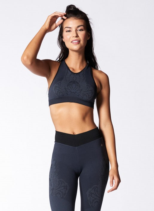 NUX Elizabeth Bra - Charcoal - Workout Crew Athletic Online